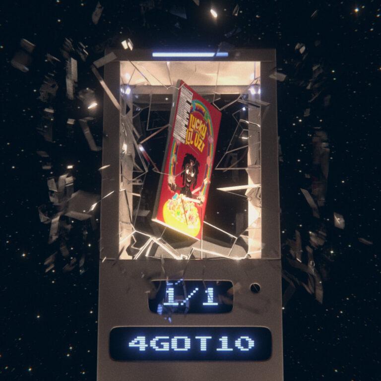 4GOT10 magazine in exploding showcase