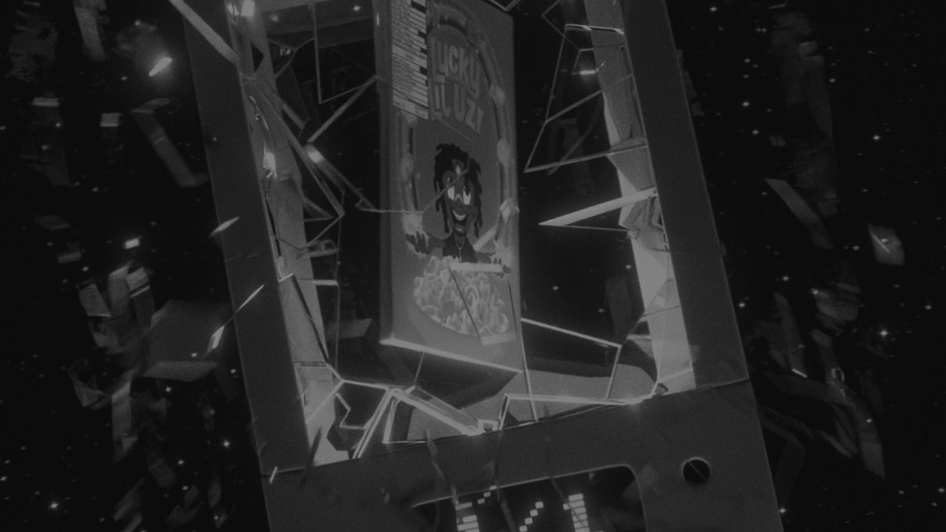 4got10 banner black and white exploding showcase