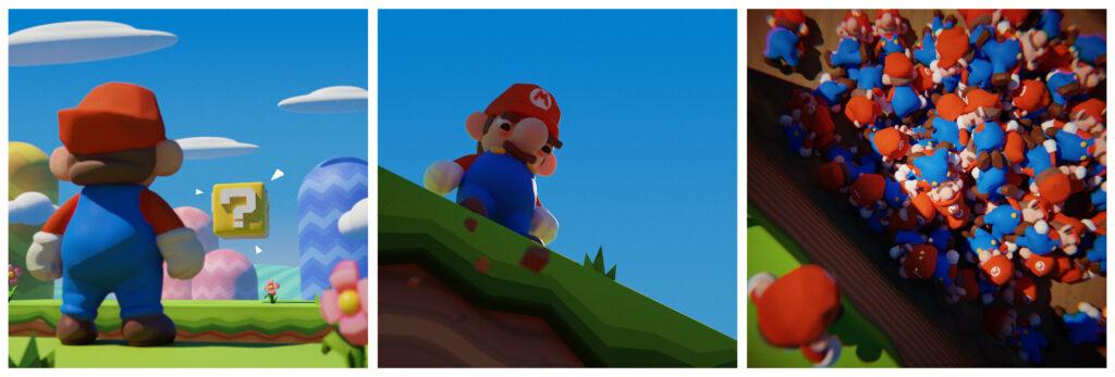 Mario full comic strip
