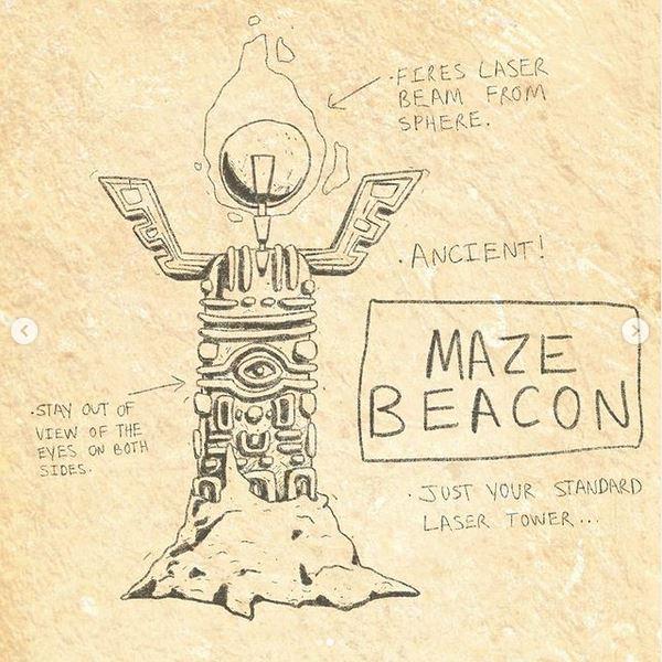 maze beacon reference