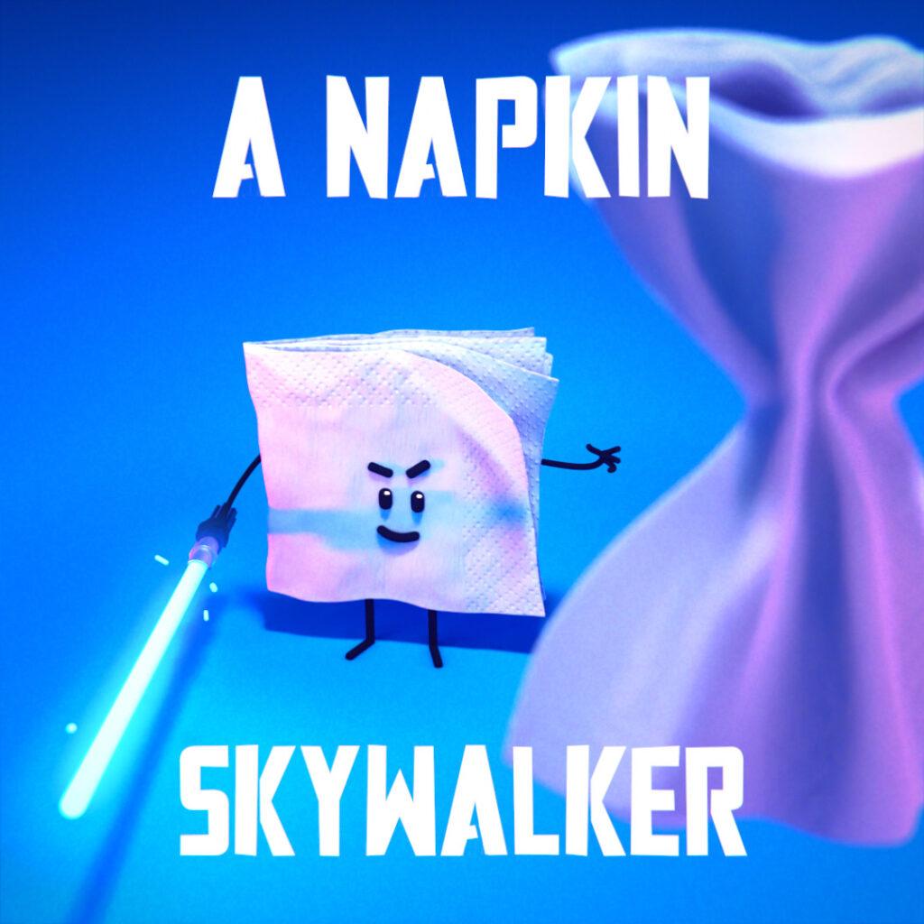 jedi napkin skywalker