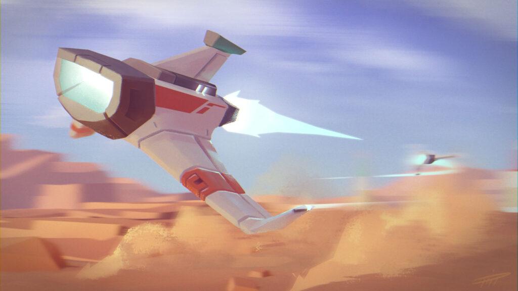 race on mars color